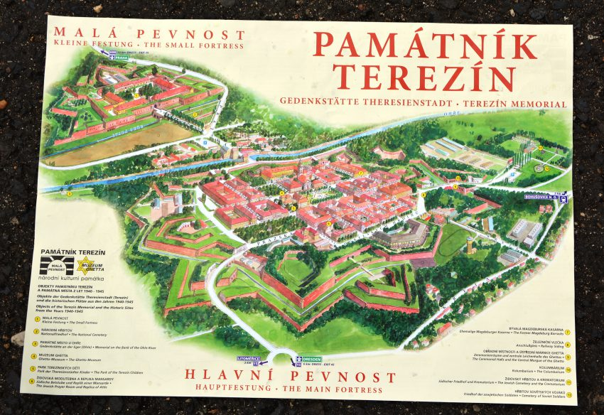 Plan Theresienstadt